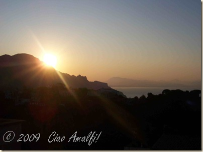 Ciao Amalfi Coast Blog Early Morning