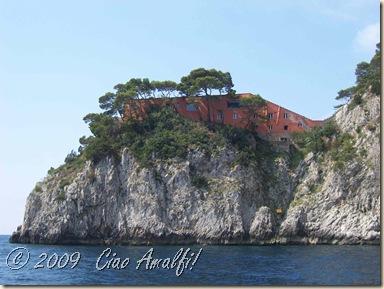 Ciao Amalfi Coast Blog Pink Casa Malaparte