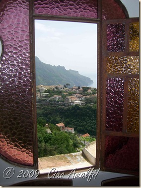 Ciao Amalfi Coast Blog Pink Window View