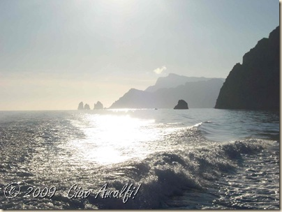 Ciao Amalfi Coast November Banner Capri