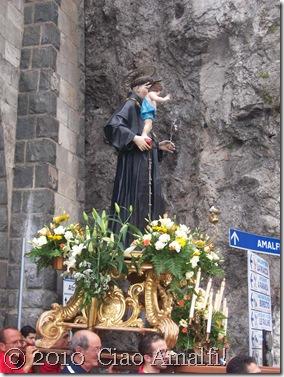 Amalfi Sant Antonio 2010 statue1