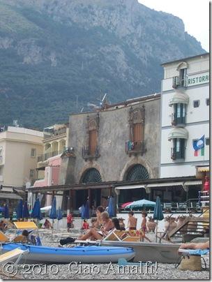 Ciao Amalfi Coast Blog Nerano Architecture