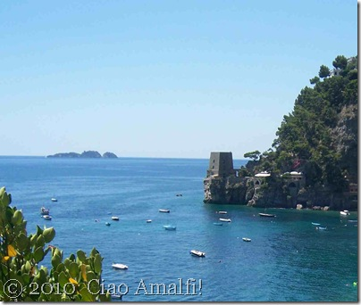 Ciao Amalfi Coast Blog Positano Fornillo watchtower