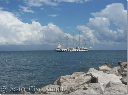 Ciao Amalfi Coast Blog Royal Clipper