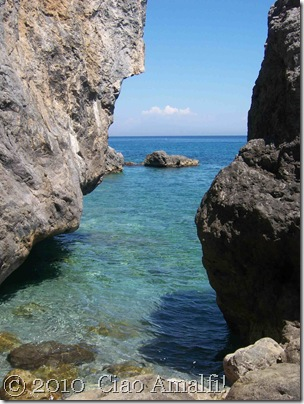 Ciao Amalfi Coast Blog Santa Croce Rocks