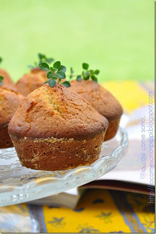 Mini cakes al miele limone e timo3