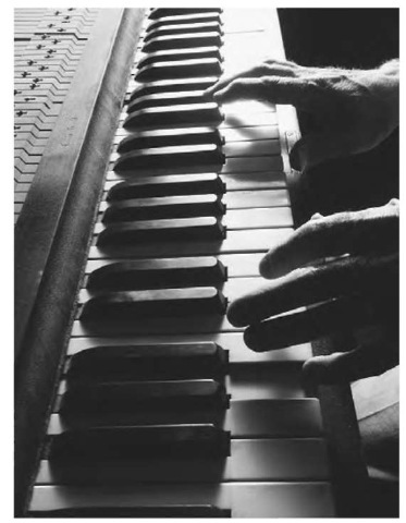 Middle C-which is at the middle of a piano keyboard—is the starting point of a basic musical scale. It is called the fundamental frequency,or the first harmonic.
