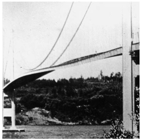 The power of resonance can destroy a bridge. On November 7, 1940, the acclaimed Tacoma Narrows Bridge collapsed due to overwhelming resonance.