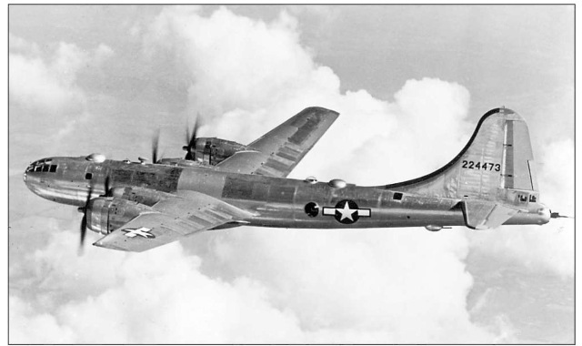 The B-29's long range gave it an advantage in the Pacific theater of World