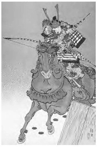 Minamoto Yoritomo (1147-1199) was the general who became shogun in 1185 and was instrumental in founding the samurai system.