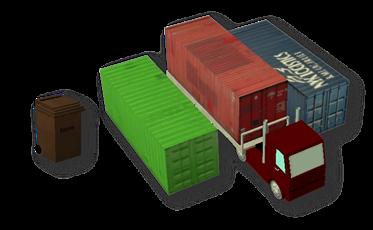 Tigers-Container & Muelltonnen