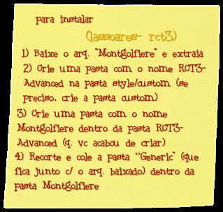 Instalando Montgolfiere (lassoares-rct3)