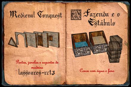 Medieval Conquest - fazenda e estábulo III (lassoares-rct3)