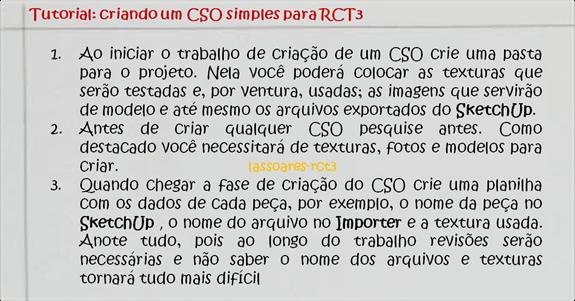 Tutorial CSO 008 (lassoares-rct3)