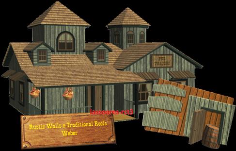 Rustic Walls e Traditional Roofs (Weber) lassoares-rct3