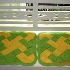 схема вязания шапки чалма.