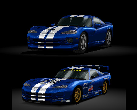 GT1 Dodge Viper GTS Race Modified