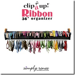 Clip It Up 36 in Ribbon Organizer
