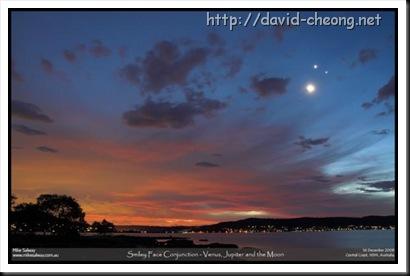 Australia's Smiling moon