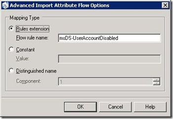 AD ILM Advanced Attribute flow
