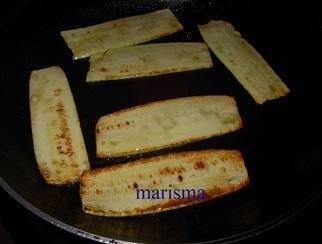 espaguetis con calabacin, calabacin plancha