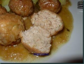 albóndigas de pollo ración corte (12)