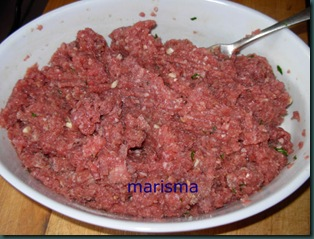 rollo de carne picada, (1)