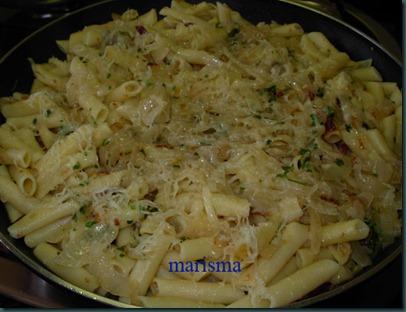 macarrones en salsa de cebolla8