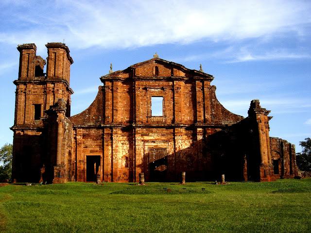 Ruinas de São Miguel das Missões... muito lindoooo