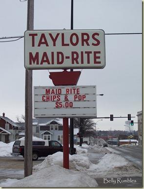 maid rite sign