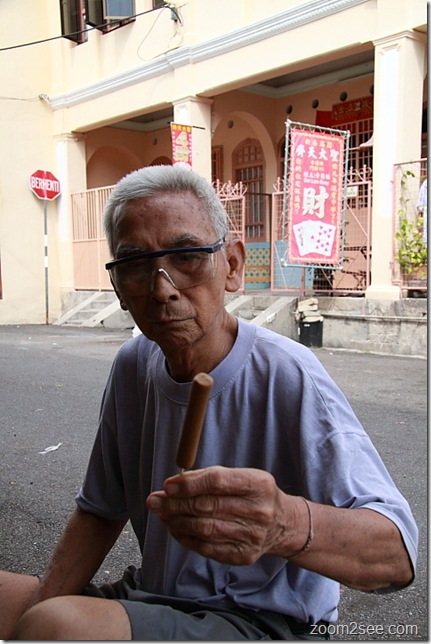 Penang's Living Heritage - Joss Stick Maker