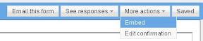 สร้าง Form กรอกข้อมูลด้วย Google Docs