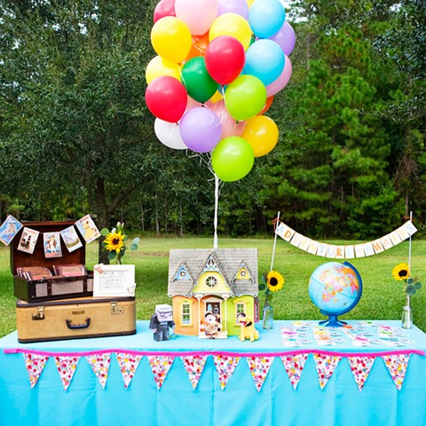 Up Theme Birthday