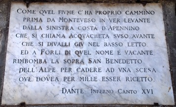 verso di Dante