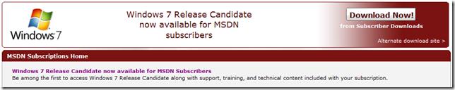 Windows7RC-MSDN