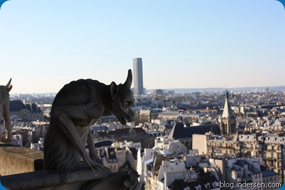 The Gargoyles on the Cathedral