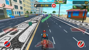 Screenshot of Moto Locos - Bike Racing