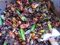 Black Rice Salad with Pecans, Asparagus, Oranges, Grapes & Raisins