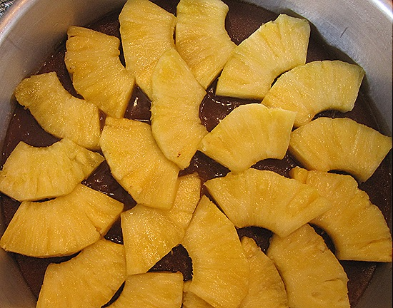 Pineapple & Brown Sugar Topping