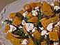 Golden Beets with Green Beans & Goat Cheese
