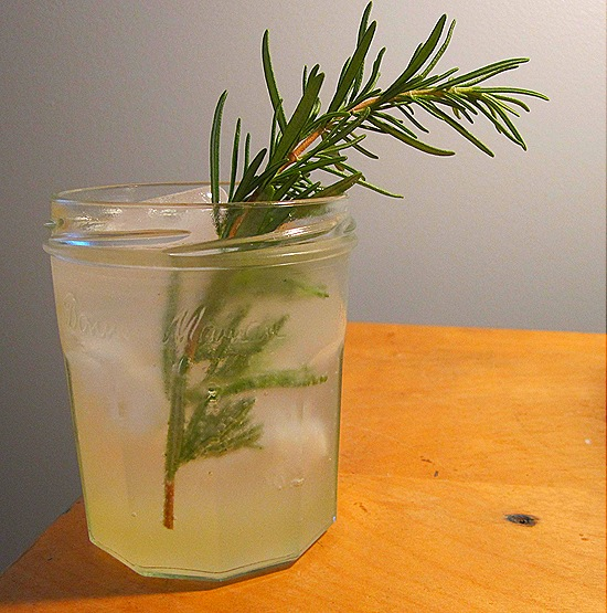 Rosemary Lemonade Vodka Spritzer