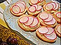 Radishes & Butter on Sliced French Bread