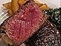 Skillet-Seared Strip Steak