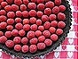 Raspberry Chocolate Truffle Tart