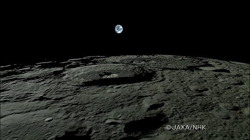 月球-地球-月亮女神