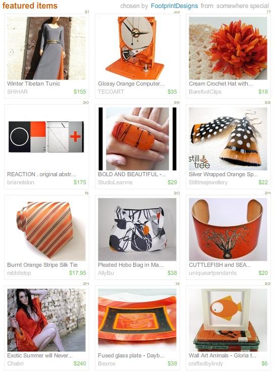 Etsy Picks: Burnt Orange
