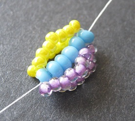 Beading a Double Spiral Rope