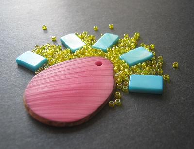 Magenta Yellow Cyan Bead Palette