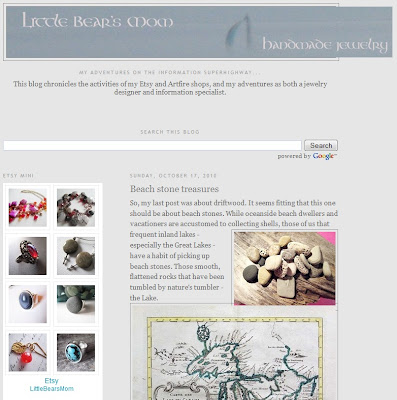 Little Bear's Mom Handmade Jewelry Blog