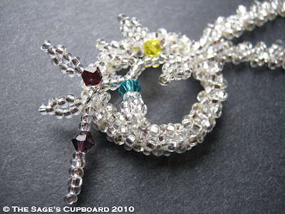 Winter Birthstone Pendant by The Sage's Cupboard